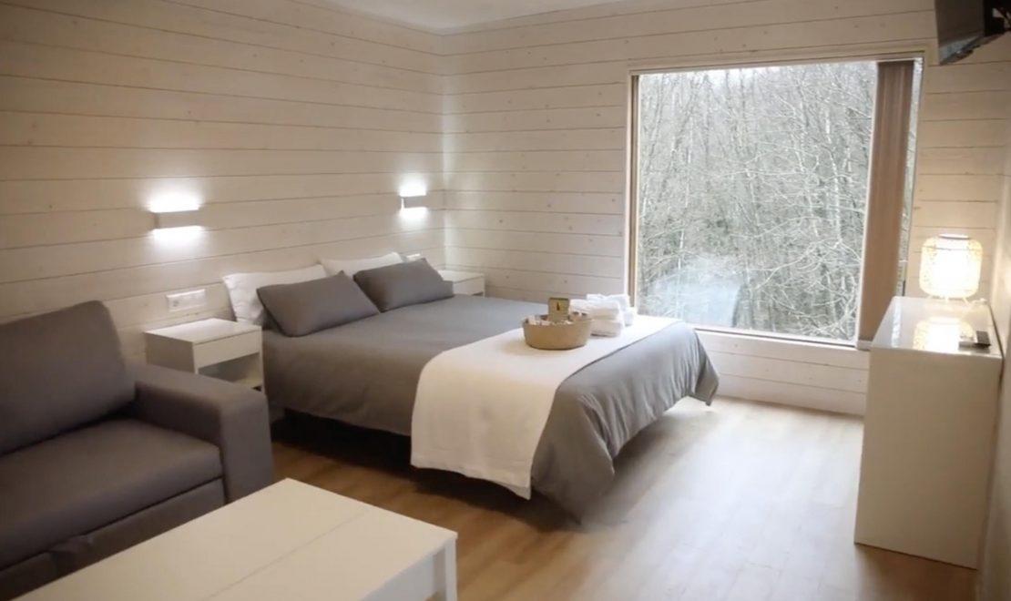 Lugo estrena sus primeras cabañas para alojarse en plena naturaleza